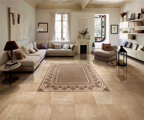 10 Choosing Suitable Living Room Floor Tiles Design Remodel
