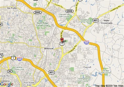 map  hampton inn raleigh capital blvd north raleigh