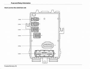 32 2004 Mercury Monterey Fuse Box Diagram