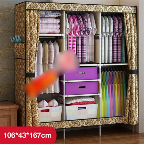 Wardrobe For Hanging Clothes by European New Clothes Hanging Armoire Closet Storage