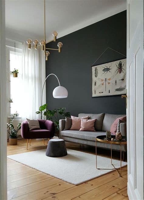 Wandfarbe Grau Weiße Möbel by Grau Als Wandfarbe Dezent Und Edel