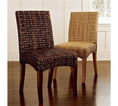 seagrass chair pottery barn home pinterest
