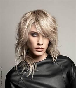 Coupe Cheveux Avec Frange : coupe de cheveux mi long d grad avec frange ~ Nature-et-papiers.com Idées de Décoration