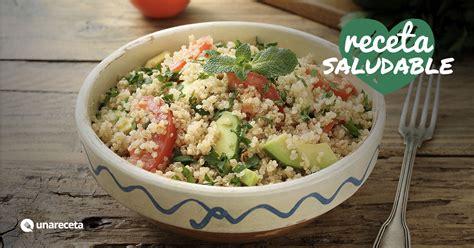 receta de ensalada de quinoa  aguacate unarecetacom