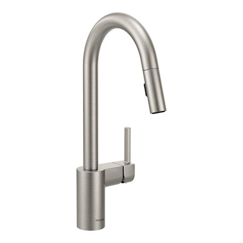 buying a kitchen faucet moen align single handle pull sprayer kitchen faucet