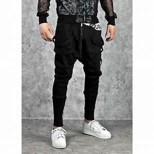 Pantalon Jogging Homme Hip Hop Marque Sarouel Homme Jogger