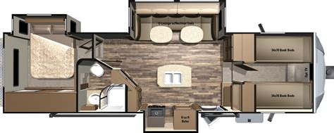 2016 fifth wheel floor plans bunkhouse 2016 light fifth wheels by highland ridge rv