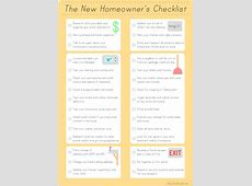 Moving Checklist Printable - elledecor