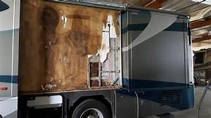 Rv Fiberglass Repair And Paint At Premier Motorcoach