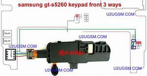 Samsung B313 Keypad Diagram