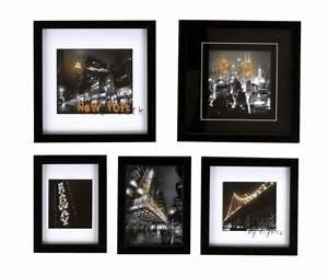 Cadre Deco Noir Et Blanc : cadre et photographie pas cher ~ Melissatoandfro.com Idées de Décoration
