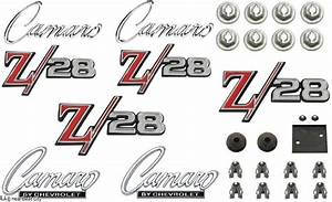 1969 Camaro Z  28 Standard Emblem Kit Oe Quality   162 94