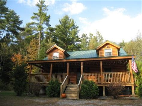 log cabin rentals nh cozy log cabin in the white mountains vacation rental in