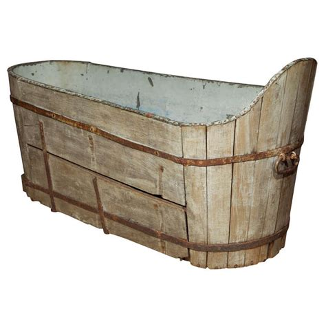 antique wooden  copper bath  stdibs