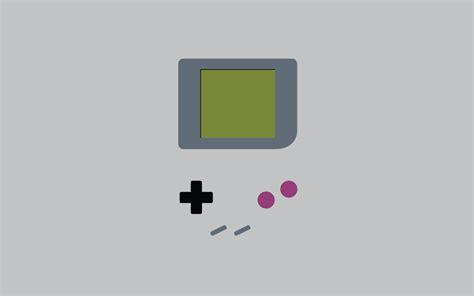 minimalist gameboy original color    px wallpapers