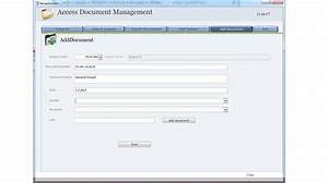 adm basic access document management With access document management database