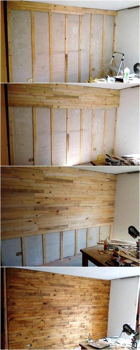 diy pallet wall cladding wood crafting   diy pallet wall wood pallets pallet projects