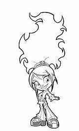 Trollz Coloring Pages Fun sketch template