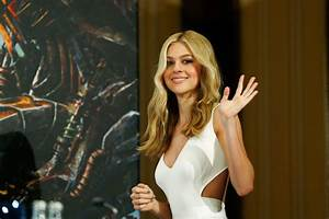 NICOLA PELTZ at Transformers: Age of Extinction Press ...