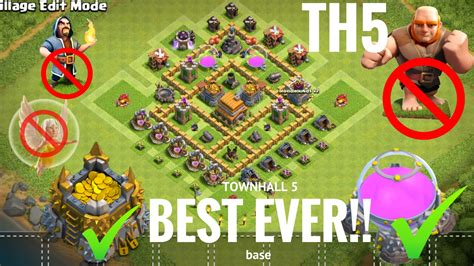 Clash Of Clans Best Base Ever - Drone Fest