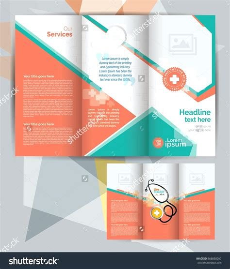 Powerpoint Brochure Templates Template Tri Fold Powerpoint Template