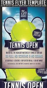 Tennis Flyer Template