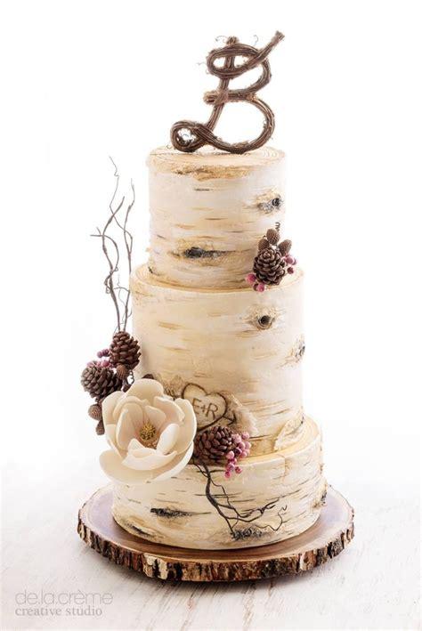 Simple Rustic Winter Wedding Cakes Ideas 08 Vis Wed