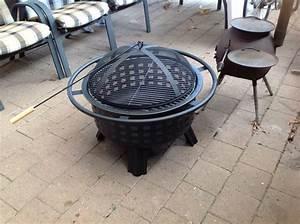 Rauchfreier Grill Aldi : my new outdoor firepit grill at aldi outdoors ~ Kayakingforconservation.com Haus und Dekorationen