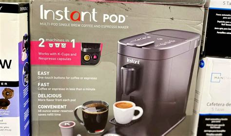 From the makers of instant pot, america's #1 most loved appliance. Walmart Instant Pod Coffee Maker Deal - Over $40 Off + Free Shipping!