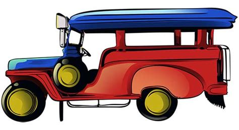 philippine jeep clipart clipart of jeepney clipground