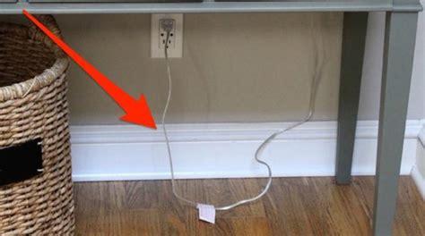 comment ranger les fils electriques 1 truc tout simple pour cacher les fils et les c 226 bles