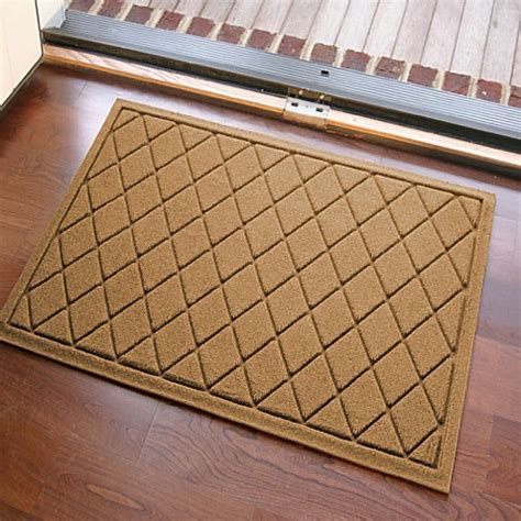 weather guard mats weather guard 23 inch x 35 inch argyle door mat bed