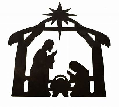 Nativity Scene Metal Clipartmag