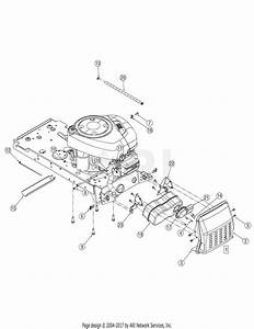 Troy Bilt 13an77tg766 Pony  2006  Parts Diagram For Engine Accessories