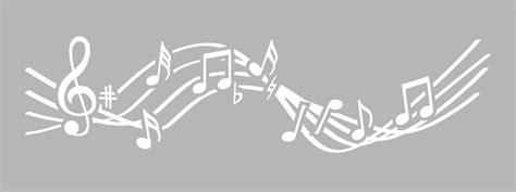 pochoir frise musique 15x40cm tout 224 creer