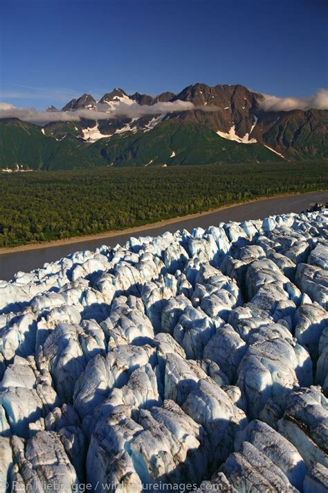 Childs Glacier | Ron Niebrugge Photography