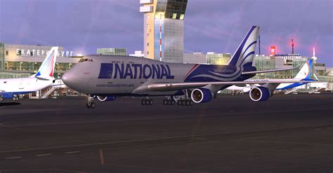 national airlines boeing   nca  fsx