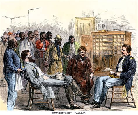 bureau naturalisation freedmen stock photos freedmen stock images alamy