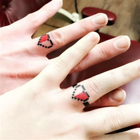 zelda wedding ring finger tattoos tattoo ideas