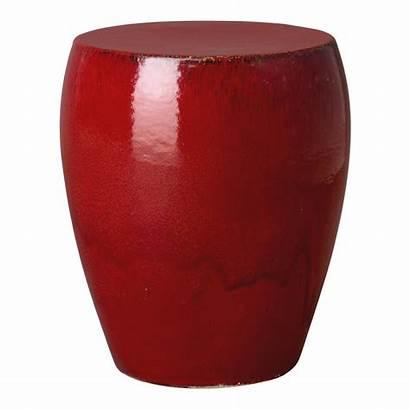 Stool Garden Ceramic Emissary Round Stools Tables