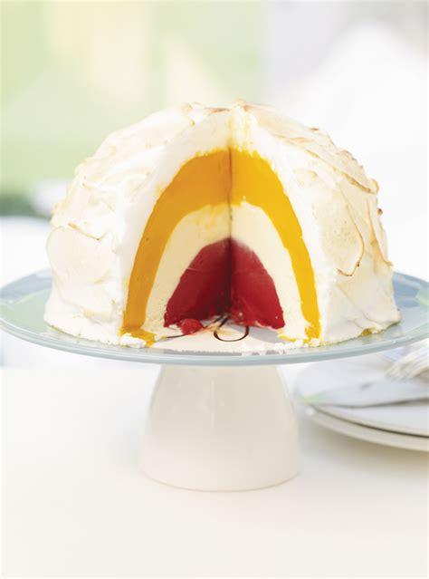 recette de dessert glace recette de bombe alaska de ricardo recette de dessert glac 233 ingr 233 dients sorbet 224 la mangue et