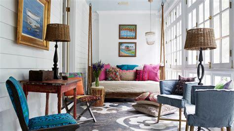 comfy swing bench   living room home design lover