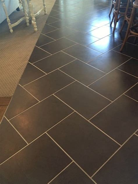 galvano charcoal tile 12x12 12 quot x 24 quot charcoal tile in herringbone pattern with light
