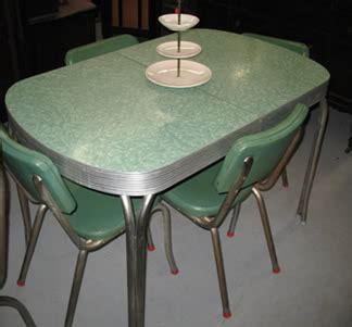 HomeOfficeDecoration   1950s retro kitchen table chairs