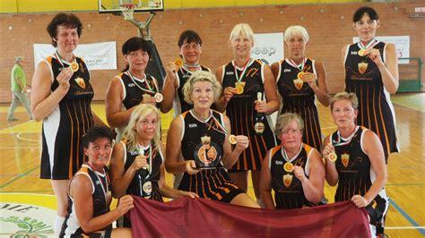 PČ maksibasketbolā: čempiones F50 grupā, vicečempioni M75 ...