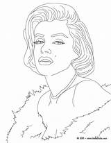 Coloring Celebrity Pages sketch template