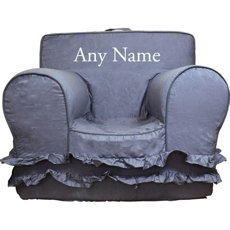 Pottery Barn My Anywhere Chair Insert by Insert For Pottery Barn Anywhere Chair Grey Ruffle Cover