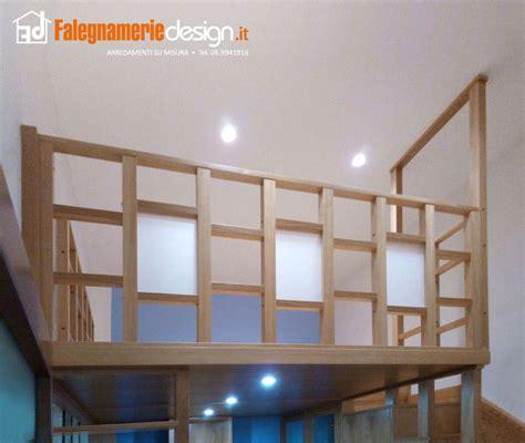 ringhiera soppalco soppalchi in legno su misura roma nuovi spazi in casa