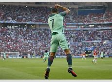 Two goal hero Cristiano Ronaldo hailed on Twitter as