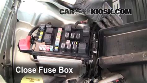 Replace Fuse Chrysler